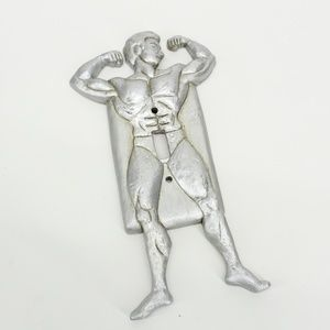Vintage Body Builder Erotic Man Light Switch Cover